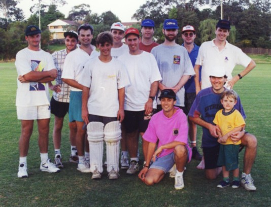 Cricket Match against Mt. Colah, March 1994